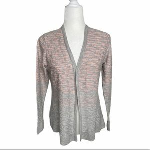 St John Collection vneck cardigan gray and…